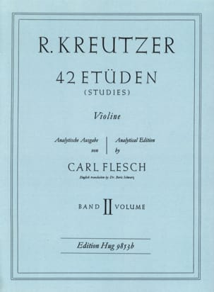 Rodolphe Kreutzer - 42 Studies Volume 2 - Sheet Music - di-arezzo.co.uk