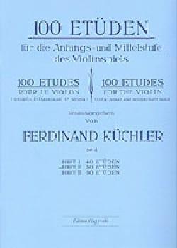 Ferdinand Kuchler - 100 Etüden op. 6 - Band 2 - Noten - di-arezzo.de
