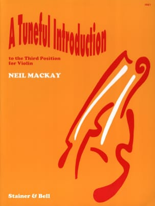 Neil Mackay - A tuneful introduction to the 3rd position - Sheet Music - di-arezzo.com