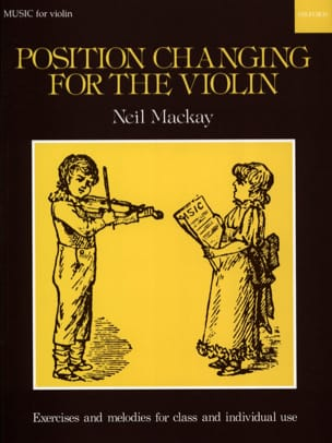 Position changing for the violin Neil Mackay Partition laflutedepan