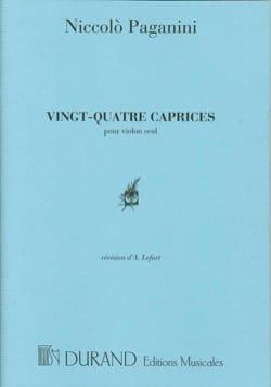 Niccolò Paganini - 24 Caprices - Partition - di-arezzo.fr