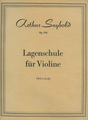 Arthur Seybold - Lagenschule op. 184 – Teil 3 - Partition - di-arezzo.fr