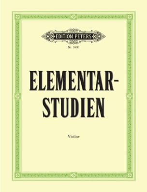 Ulfert Thiemann - Elementar-Studien - Sheet Music - di-arezzo.co.uk