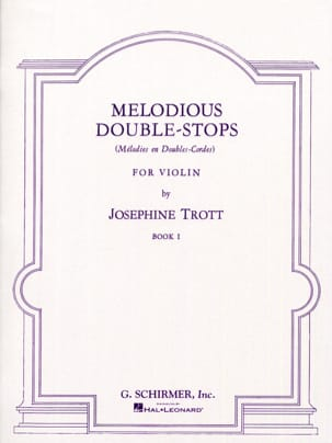 Josephine Trott - Melodious double-stops - Volume 1 - Sheet Music - di-arezzo.com