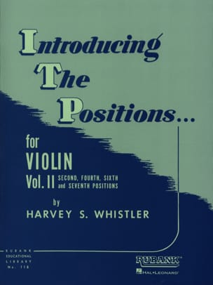 Harvey Whistler - Introducing the positions - Volume 2 Violon - Partition - di-arezzo.fr