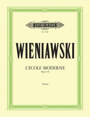 WIENIAWSKI - The Modern School Op.10 - Sheet Music - di-arezzo.co.uk