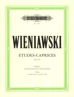 WIENIAWSKI - Studies-Caprices op. 18 - Sheet Music - di-arezzo.com