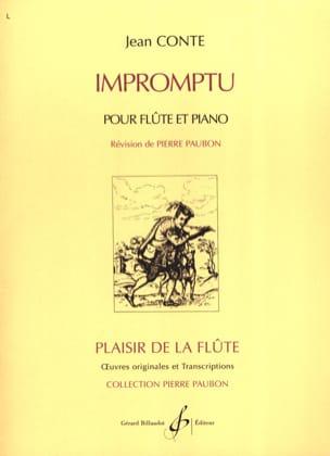Jean Conte - Impromptu - Partition - di-arezzo.fr