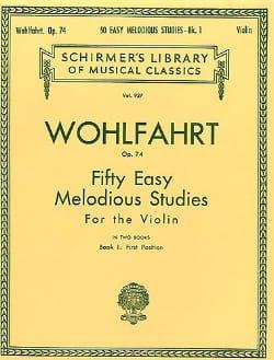Franz Wohlfahrt - 50 leichte melodiöse Studien op. 74, Band 1 - Noten - di-arezzo.de