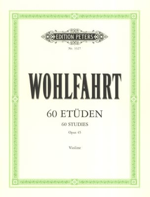 60 Etudes Op. 45 Franz Wohlfahrt Partition Violon - laflutedepan