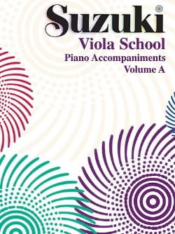 Suzuki - Viola School Vol.A - Accompagnamento al pianoforte - Partitura - di-arezzo.it