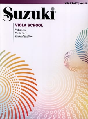 Suzuki - Viola School Vol.5 - viola Part - Partition - di-arezzo.fr
