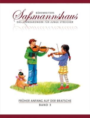 Egon Sassmannshaus - Früher Anfang auf der Bratsche Vol.3 - Partition - di-arezzo.fr