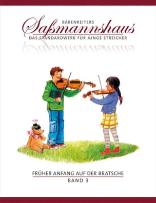 Früher Anfang auf der Bratsche Vol.3 Egon Sassmannshaus laflutedepan