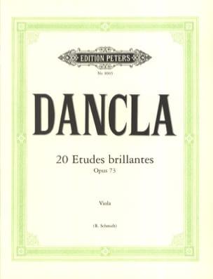 DANCLA - 20 estudios brillantes op. 73 - Viola Schmidt - Partitura - di-arezzo.es