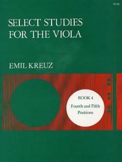 Select Studies for Viola - Volume 4 - Emil Kreuz - laflutedepan.com
