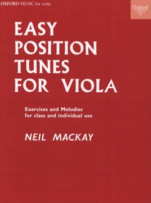 Neil Mackay - Easy position tunes for Viola - Partition - di-arezzo.fr