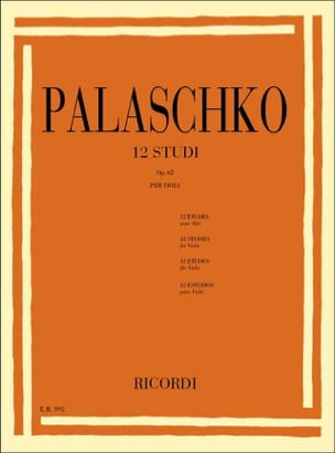 Johannes Palaschko - 12 Studi op. 62 - Viola - Sheet Music - di-arezzo.co.uk