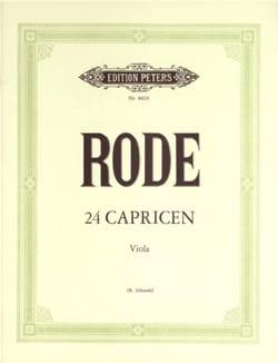 Pierre Rode - 24 Capricen - Viola Schmidt - Partitura - di-arezzo.es