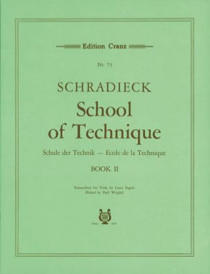 Henry Schradieck - School of Technique Volume 2 - Alto - Sheet Music - di-arezzo.co.uk