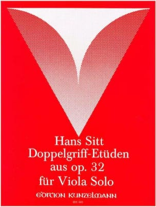 Doppelgriff-Etüden aus op. 32 – Viola - Hans Sitt - laflutedepan.com