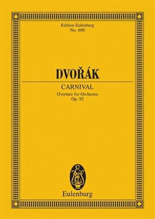 Karneval-Ouvertüre - Antonin Dvorak - Partition - laflutedepan.com
