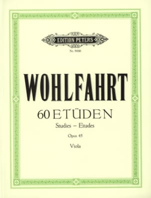Franz Wohlfahrt - 60 studies op. 45 - Alto Spindler - Sheet Music - di-arezzo.co.uk