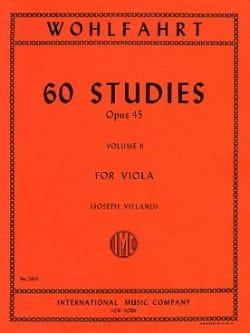 60 Studies op. 45 - Volume 2 - Viola Vieland laflutedepan