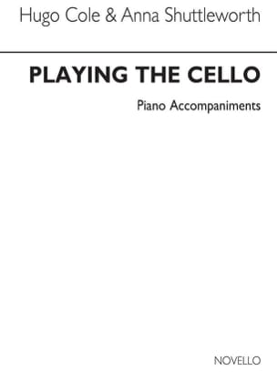 Cole Hugo / Shuttleworth Anna - Playing the Cello - Piano acc. - Partition - di-arezzo.fr