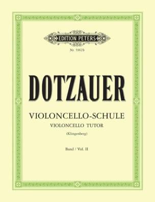 Friedrich Dotzauer - Méthode de violoncelle – Volume 2 - Partition - di-arezzo.fr