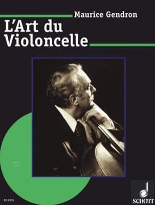 L'Art du violoncelle Maurice Gendron Partition laflutedepan