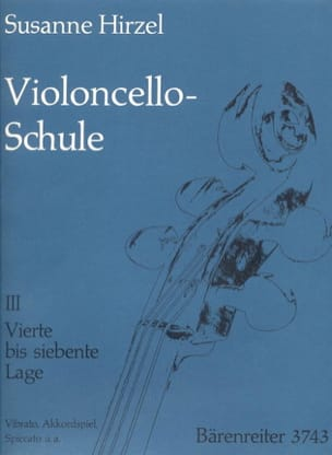 Susanne Hirzel - Violoncello-Schule - Heft. 3 - Sheet Music - di-arezzo.co.uk