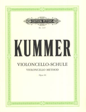 Friedrich-August Kummer - Cello Method op. 60 - Sheet Music - di-arezzo.co.uk
