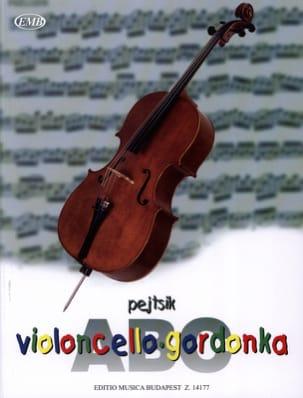 Arpad Pejtsik - ABC Violoncello - Partition - di-arezzo.fr