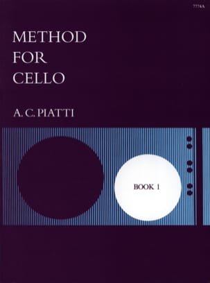 Method for Cello - Book 1 A. C. Piatti Partition laflutedepan