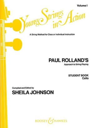 Paul Rolland - Young strings in action, Volume 1 – Student book - Cello - Partition - di-arezzo.fr