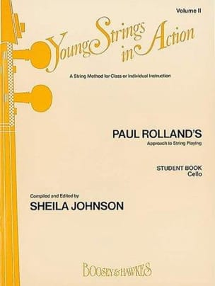 Paul Rolland - Young strings in action, Volume 2 - Student book - Cello - Partition - di-arezzo.fr