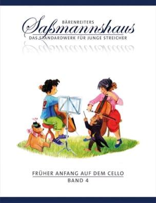 Früher Anfang auf dem Cello Volume 4 - laflutedepan.com