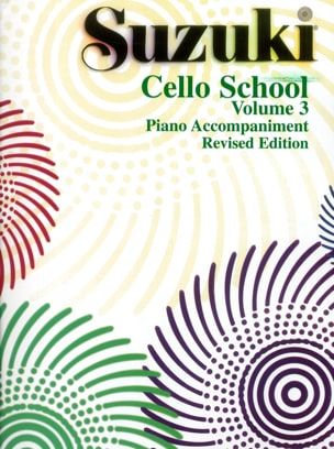Cello School Volume 3 - Piano-Acc. SUZUKI Partition laflutedepan