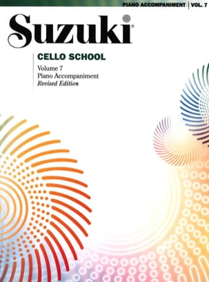 Suzuki - Cello School Volume 7 - Piano-Acc. - Partition - di-arezzo.fr
