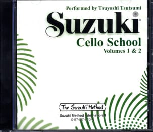 Suzuki - Cello School Volume 1-2 - CD - Sheet Music - di-arezzo.co.uk