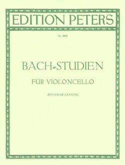 Bach Johann Sebastian / Längin Folkmar - Bach-Studien - Partition - di-arezzo.fr