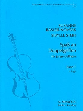 Basler-Novsak Susanne / Stein Sibylle - Fun with double-stops – Book 1 - Partition - di-arezzo.fr