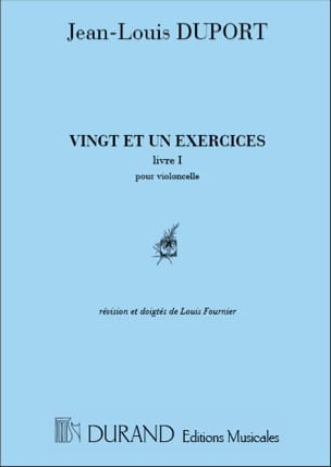 Jean Louis Duport - 21 Exercises - Book 1 1 to 13 - Sheet Music - di-arezzo.com