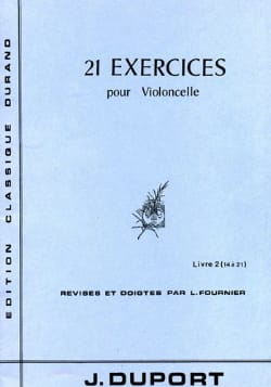 Jean Louis Duport - 21 Exercises - Book 2 14 to 21 - Sheet Music - di-arezzo.com