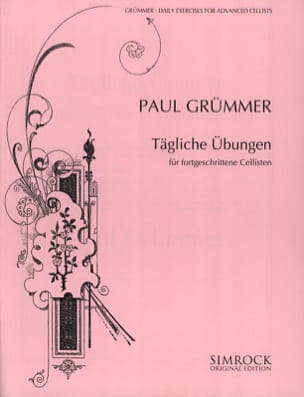 Paul Grümmer - Daily exercises for advanced cellists - Sheet Music - di-arezzo.com