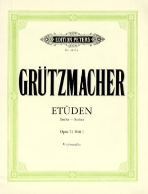 Friedrich Grützmacher - 12 Etüden op. 72 - Heft 1 - Sheet Music - di-arezzo.co.uk