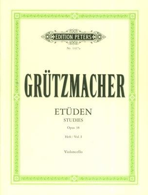 24 Etüden op. 38 – Heft 1 - Friedrich Grützmacher - laflutedepan.com