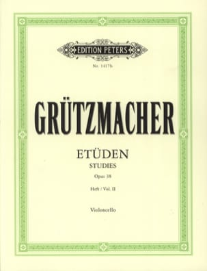 Friedrich Grützmacher - 24 Studies op. 38 - volume 2 - Partition - di-arezzo.co.uk