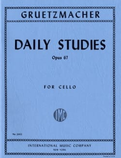 Friedrich Grützmacher - Daily studies op. 67 - Cello - Sheet Music - di-arezzo.com